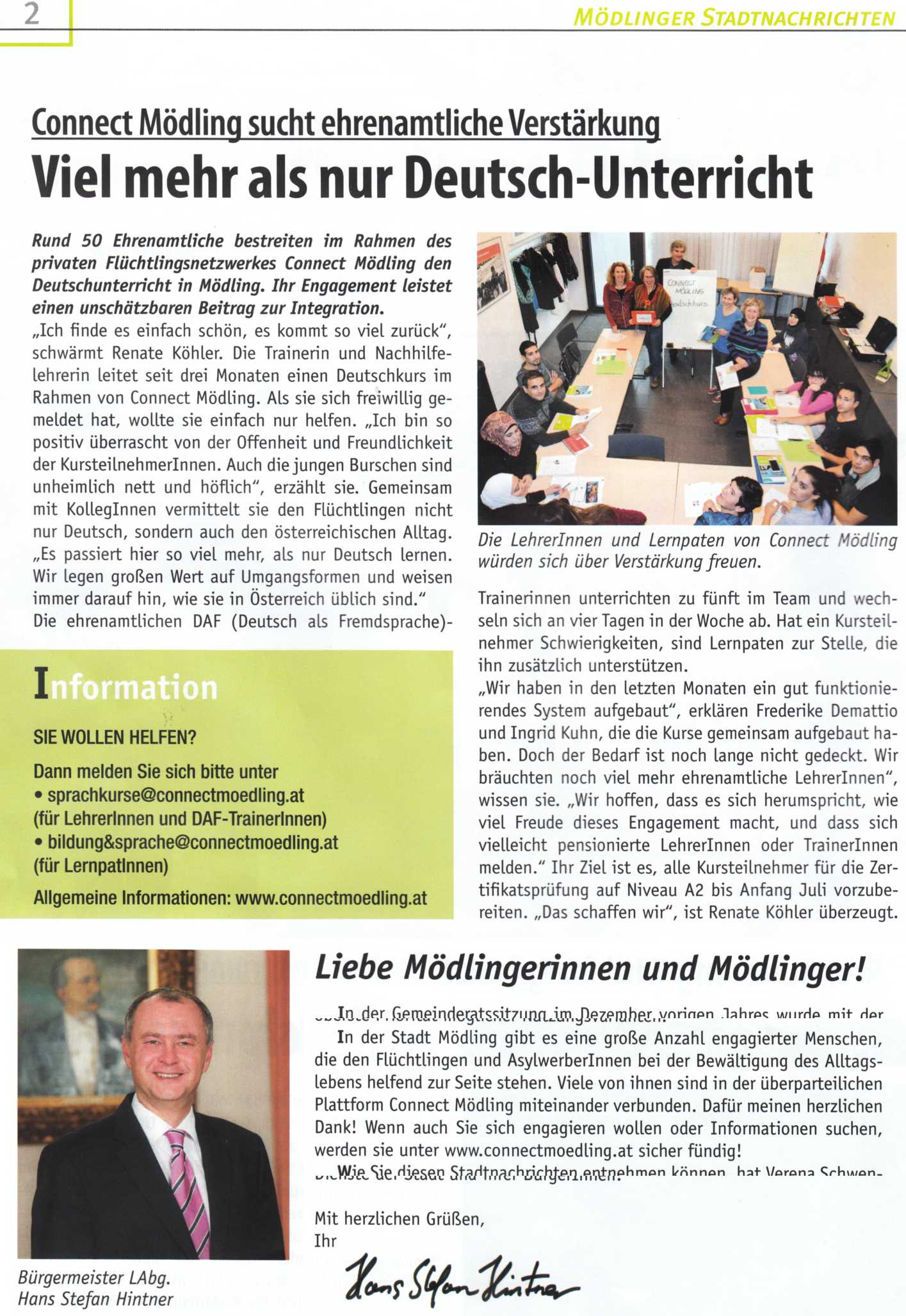 Stadtnachrichten 03-2016 - Deutsch-Unterricht_k
