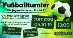 Fußballturnier @ Garten des Haus der Jugend | Mödling | Niederösterreich | Österreich