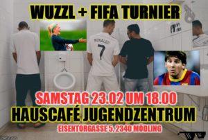 Wuzzl-Fifa-Turnier @ Hauscafé im Haus der Jugend | Mödling | Niederösterreich | Österreich